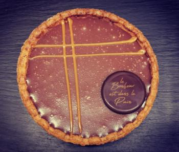 TARTELETTE chocolat cacahuètes caramélisées