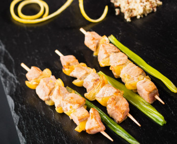 Brochette de veau marinade WHISKY