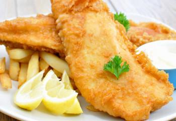 FISH & CHIPS DE CABILLAUD
