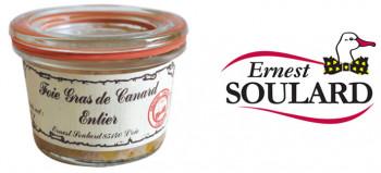 Bocal Foie gras canard entier 50 grs