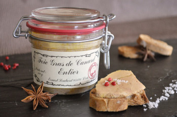 Bocal Foie gras canard entier 180 grs